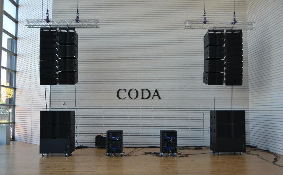 Профессиональные Акустические системы Coda Audio