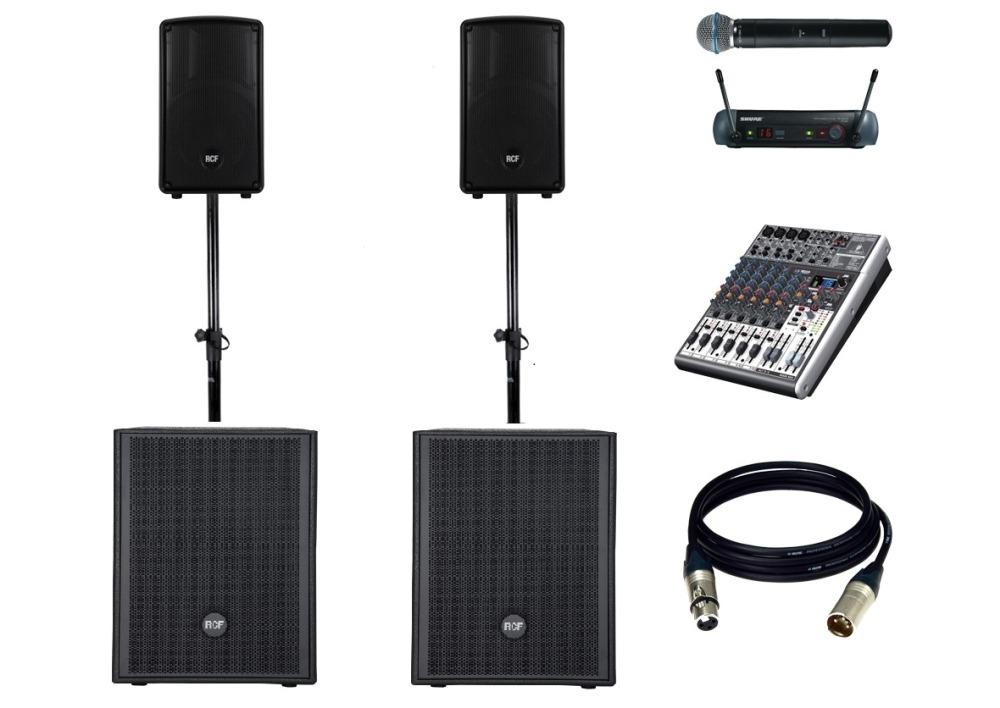 Комплект звукового оборудования RCF