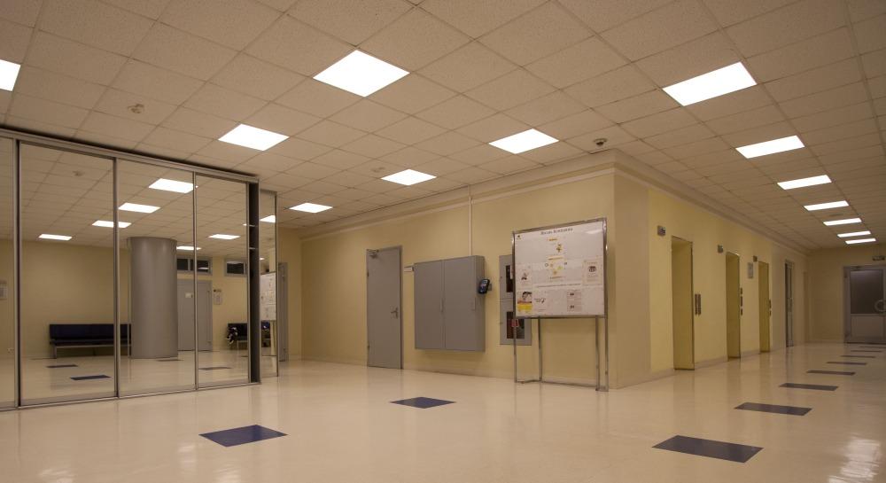 Освещение офисов при помощи светодиодных светильников