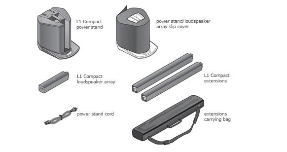 Звуковая система BOSE L1 COMPACT