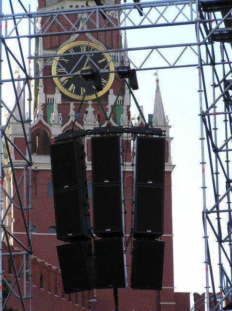 GAE на Красной площади.