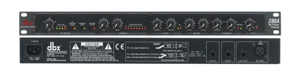 Микрофонный компрессор Dbx