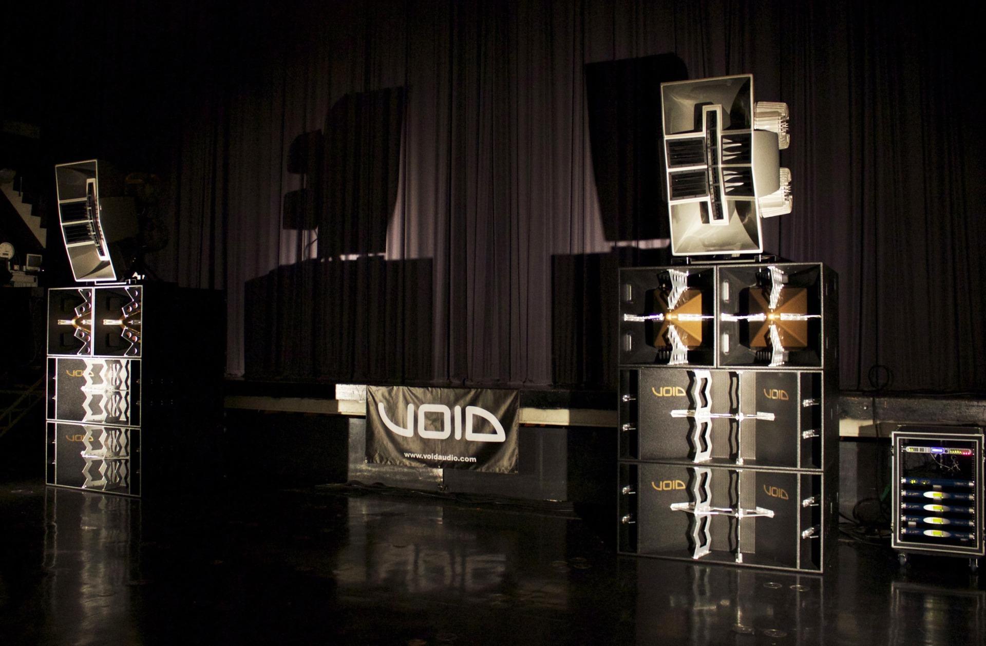 Акустика для клубов VOID Acoustics