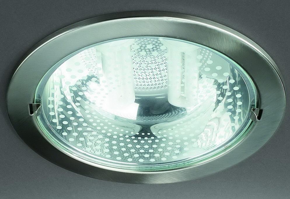 Встраиваемые светильники с компактными люминесцентными лампами