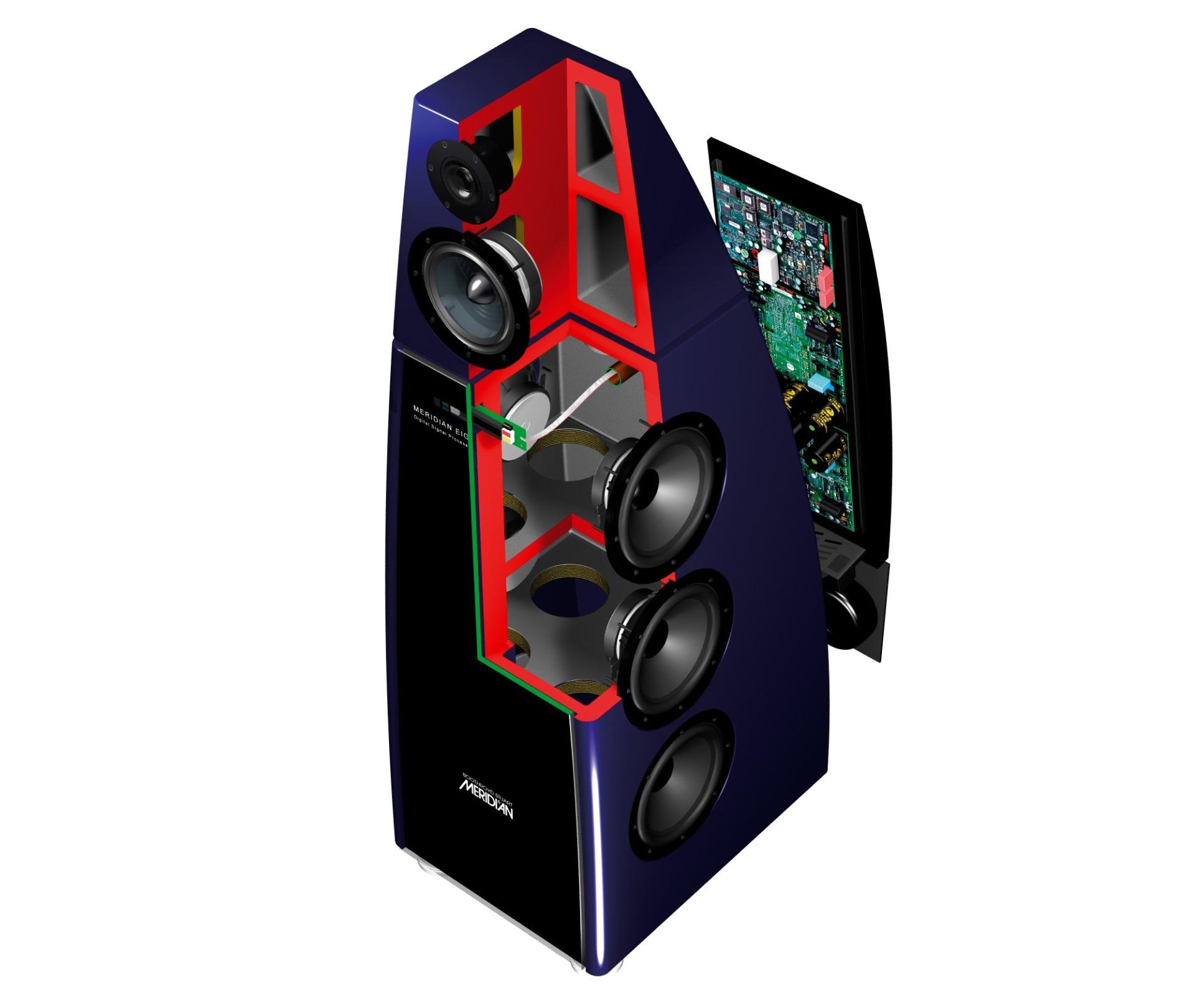 Строение Корпуса Meridian Audio DSP8000