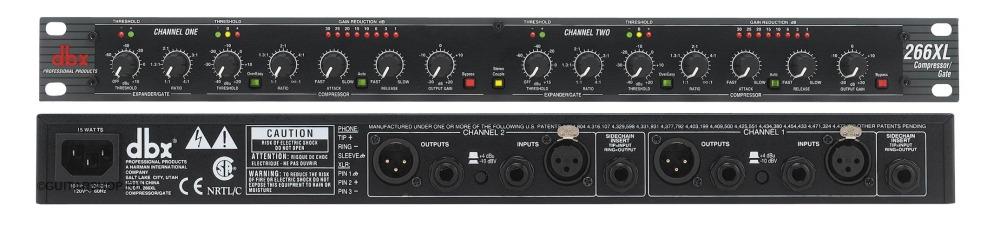 Микрофонный компрессор-лимитер-гейт