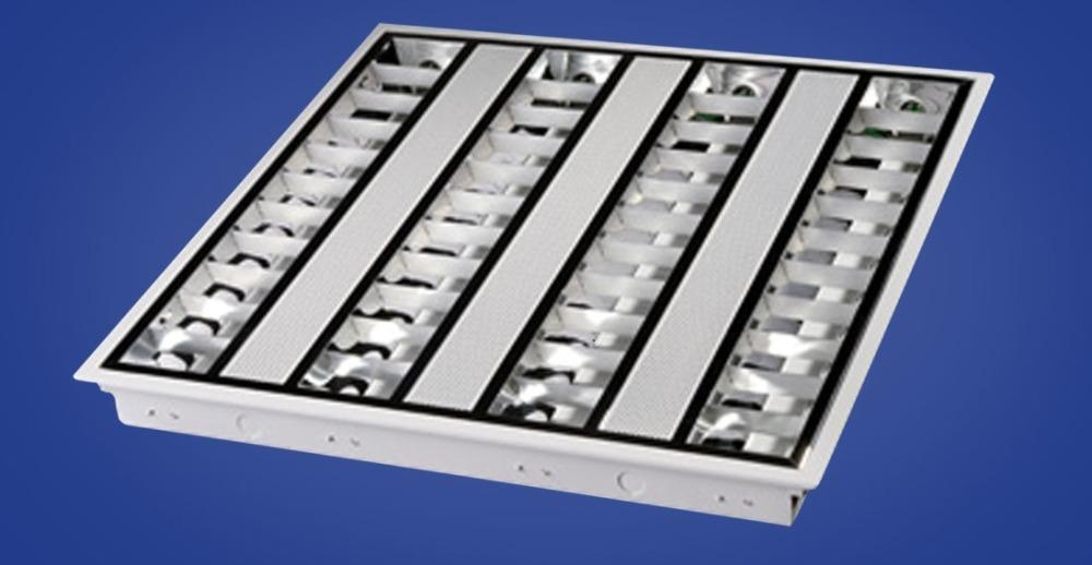 Встраиваемые растровые светильники для подвесных потолков