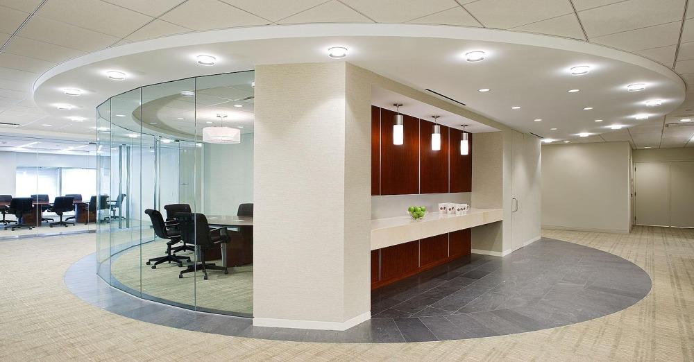 Освещенность рабочей зоны офисного пространства