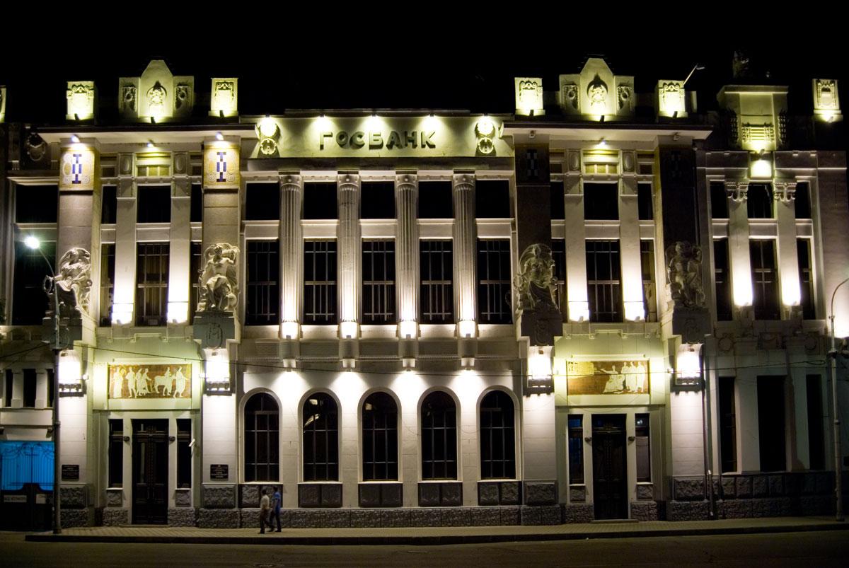 Архитектурныя подсветка зданий