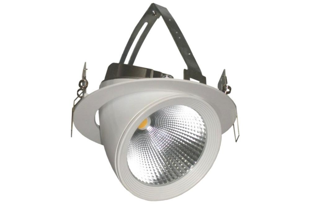 Светодиодные встраиваемые светильники направленного света