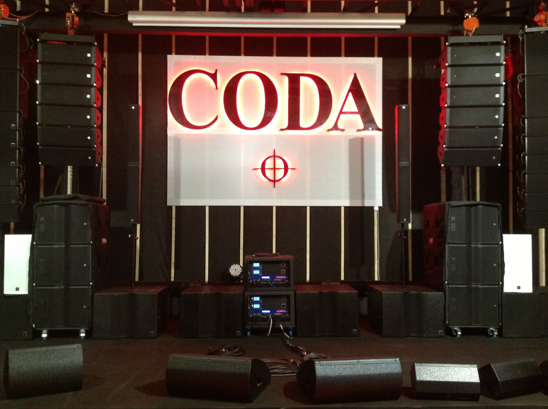 Звуковое оборудование Coda Audio
