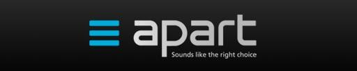 APART AUDIO лого