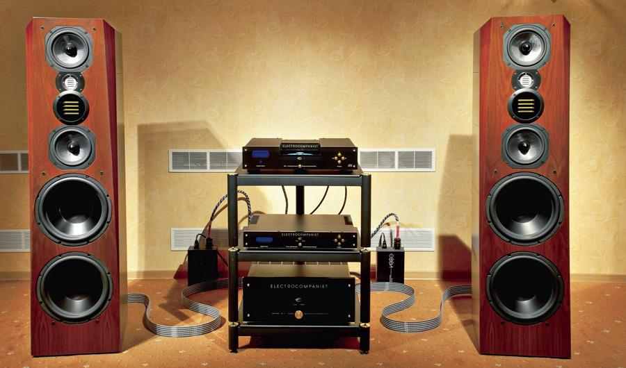Hi-Fi компоненты стереосистемы