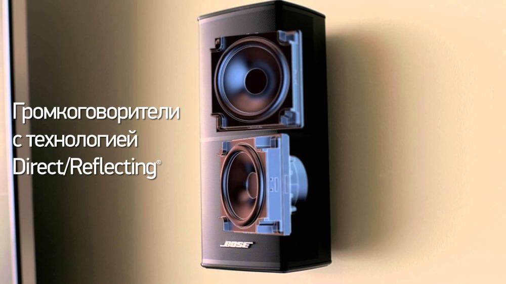Bose Acoustimass 10.V — акустическая система для домашнего кинотеатра