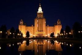 Проблемы формирования ночного облика российских городов